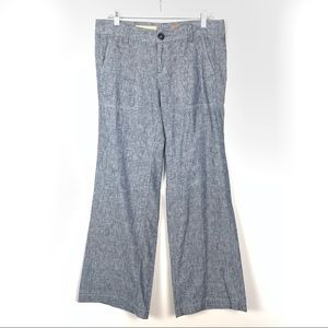 Pilcro & The Letterpress | Chambray Wide Leg Pants